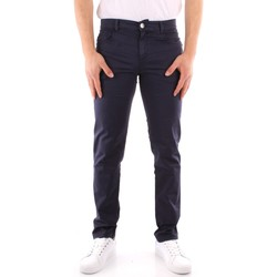 Vêtements Homme Chinos / Carrots Trussardi 52J00007 1T005015 BLEU MARIN