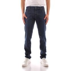 Vêtements Homme Jeans droit Trussardi 52J00000 1Y000149 BLEU