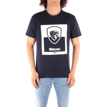 Vêtements Homme Nos engagements RSE Blauer 21SBLUH02131 BLEU