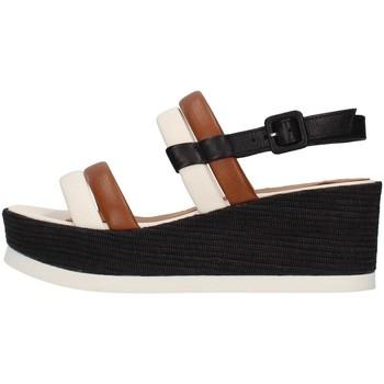 Chaussures Femme Sandales et Nu-pieds Tres Jolie 2056/JIL/MS BLANC