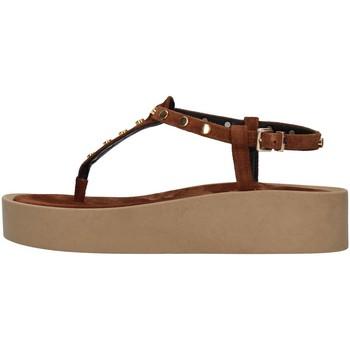 Chaussures Femme Sandales et Nu-pieds Tres Jolie 2071/ALOE MARRON