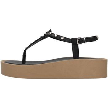 Chaussures Femme Sandales et Nu-pieds Tres Jolie 2071/ALOE NOIR