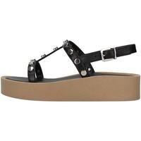 Chaussures Femme Sandales et Nu-pieds Tres Jolie 2080/ALOE NOIR