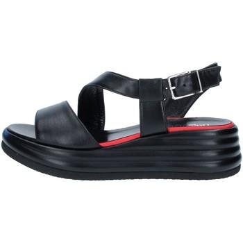 Chaussures Femme Sandales et Nu-pieds Tres Jolie 1998/JAN NOIR