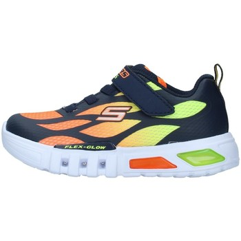 Chaussures Garçon Baskets basses Skechers 400016N BLANC
