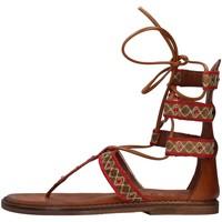 Chaussures Femme Sandales et Nu-pieds Zoe INCAS05 ROUGE