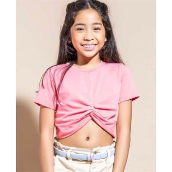 Vêtements Fille T-shirts manches courtes Vicolo 3146M0300 T-shirt Enfant FAIRE DE LA PÊCHE FAIRE DE LA PÊCHE
