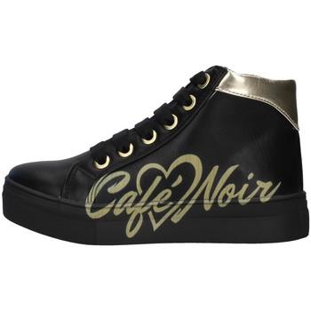Chaussures Fille Baskets montantes Café Noir C-841 NOIR