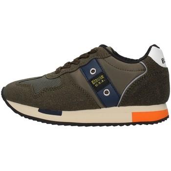 Chaussures Garçon Baskets basses Blauer F0DASH02/NYL VERT