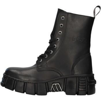 Chaussures Boots New Rock WALL026NBASA NOIR