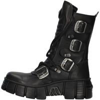 Chaussures Boots New Rock WALL028N NOIR