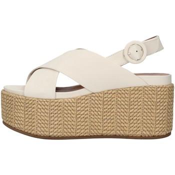 Chaussures Femme Sandales et Nu-pieds Tres Jolie 2801/MONY BLANC