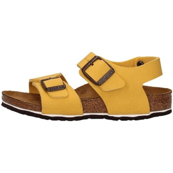 Chaussures Garçon Milano Kids Bf Desert Soil Birkenstock 1015758 JAUNE