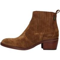 Chaussures Femme Bottines Dakota Boots DKT73 MARRON
