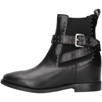 Chaussures Femme Bottines Albano 1222 NOIR
