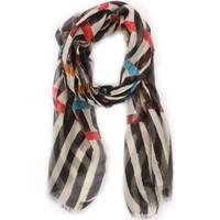 Accessoires textile Femme Echarpes / Etoles / Foulards Achigio' P8-1032 ECRU