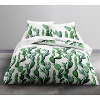 Maison & Déco Housses de couettes Today Parure de housse de couette 240x220 coton Cactus Vert