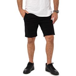 Vêtements Homme Shorts / Bermudas Pullin Short  DENING SHORT CHINO DARK NOIR