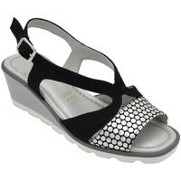Chaussures Femme Sandales et Nu-pieds Angela Calzature ANSANGC1932arg nero