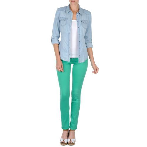 Vêtements Femme Pantalons 5 poches Cimarron CASSIS Vert