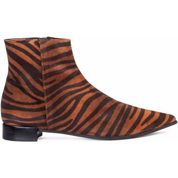 Chaussures Femme Bottines Paco Gil NACHA Marron