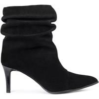 Chaussures Femme Bottes Paco Gil LORENA Noir