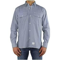 Vêtements Homme Chemises manches longues Department Five Rams Blue