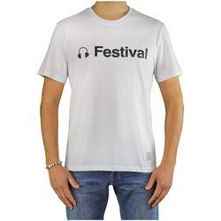 Vêtements Homme T-shirts manches courtes Department Five Gars White