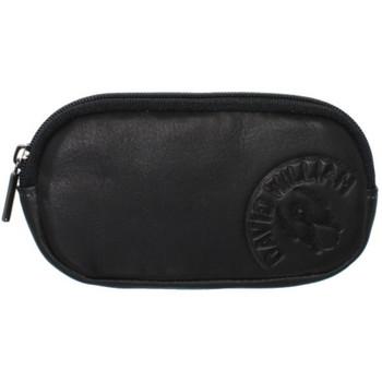 Sacs Homme Trousses David William Porte-monnaie  en cuir ref_lhc37144-noir Noir