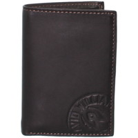 Sacs Homme Portefeuilles David William Porte-cartes  en cuir ref_lhc37145-marron Marron