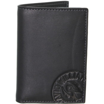 Sacs Homme Portefeuilles David William Porte-cartes  en cuir ref_lhc37145-noir Noir