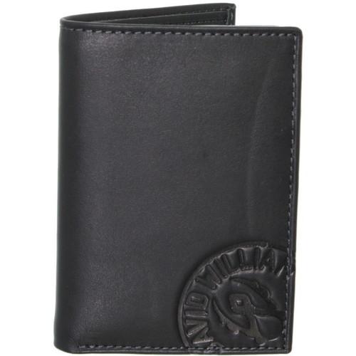 Sacs Homme Portefeuilles David William Porte-cartes  en cuir ref_lhc37145-noir Noir
