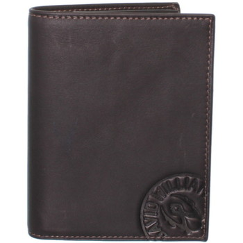 Sacs Homme Portefeuilles David William Portefeuille  en cuir ref_lhc37148-marron Marron
