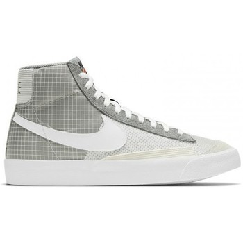 Chaussures Baskets montantes Nike BLAZER MID '77 / GRIS Gris