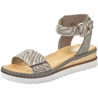 Chaussures Femme Sandales et Nu-pieds Rieker 67952 Gris