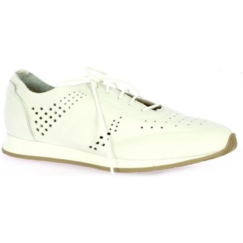 Chaussures Femme Baskets basses Pao Baskets cuir Blanc