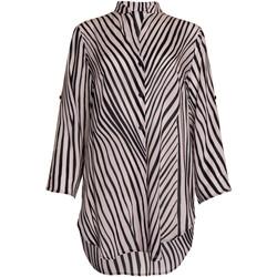 Vêtements Femme Chemises / Chemisiers Lisca Chemise estivale manches trois-quarts Okinawa Noir-blanc