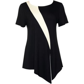 Vêtements Femme Tops / Blouses Lisca Top manches courtes Guaraja noir Noir