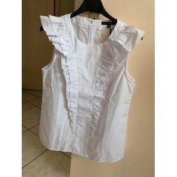 Vêtements Femme Tops / Blouses Tara Jarmon Top blanc Blanc