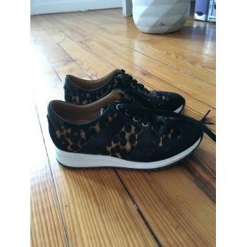 Chaussures Femme Baskets basses Longchamp Longchamp sneakers noires femme Multicolore