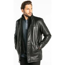 Vêtements Homme Vestes en cuir / synthétiques Daytona TYLER LAMB ZENITH BLACK Noir