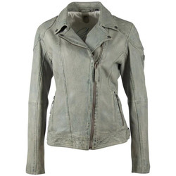 Vêtements Femme Vestes en cuir / synthétiques Gipsy GGSHAKEE CF LAMAXV LIGHT MINT Gris