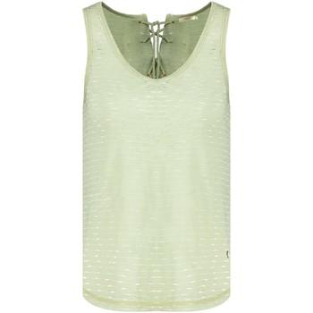 Vêtements Femme Débardeurs / T-shirts sans manche Deeluxe T-Shirt CINDYLA Light Khaki