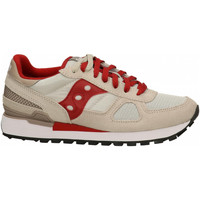 Chaussures Homme Baskets basses Saucony SHADOW ORIGINAL tan-red