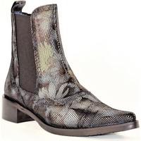 Chaussures Femme Bottines PintoDiBlu 9951 MULTI FLEURS OR ARGENT