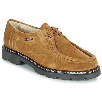 Chaussures Homme Derbies Pellet MACHO Marron