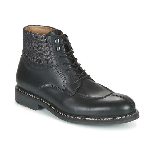Chaussures Homme Boots Pellet ROLAND Noir