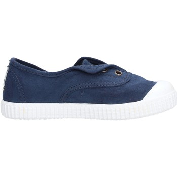 Chaussures Garçon Tennis Victoria - Slip on  blu 106627 MARINO BLU