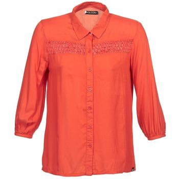 Chemises Volcom KNOTTY Rouge 350x350