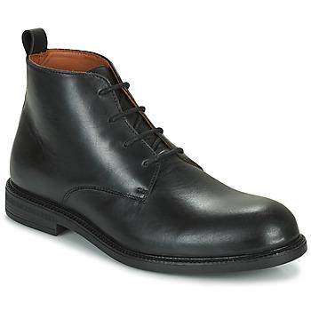 Chaussures Homme Boots Pellet BAPTISTE Noir